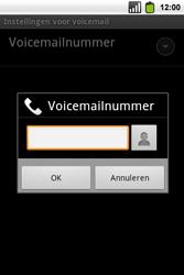 Alcatel OT-991 Smart - Voicemail - Handmatig instellen - Stap 9