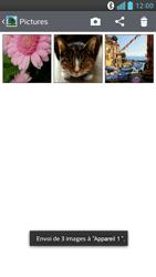 LG Optimus F6 - Photos, vidéos, musique - Envoyer une photo via Bluetooth - Étape 12