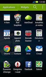 Acer Liquid Z4 - E-mail - Envoi d