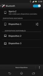 Sony Xperia Z - Bluetooth - Conectar dispositivos a través de Bluetooth - Paso 8