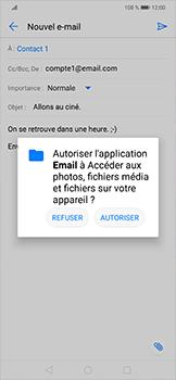 Huawei Mate 20 lite - E-mails - Envoyer un e-mail - Étape 11