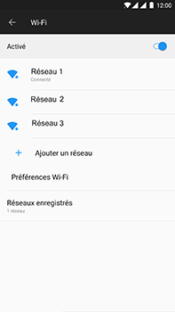 OnePlus 3 - Android Oreo - Wifi - configuration manuelle - Étape 7
