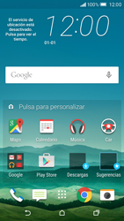 HTC One M9 - Red - Seleccionar una red - Paso 1