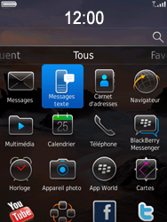 BlackBerry 9800 Torch - SMS - Configuration manuelle - Étape 3