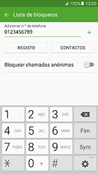 Samsung Galaxy A5 (2016) (A510F) - Chamadas - Bloquear chamadas de um número -  10