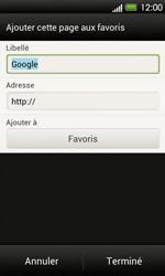 HTC T320e One V - Internet - Navigation sur Internet - Étape 6