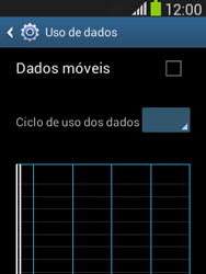 Samsung S5310B Galaxy Pocket Neo - Rede móvel - Como ativar e desativar uma rede de dados - Etapa 7