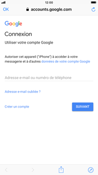 Apple iPhone 7 Plus - iOS 12 - E-mail - Configuration manuelle (gmail) - Étape 6