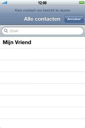 Apple iPhone 4 S - MMS - Afbeeldingen verzenden - Stap 4