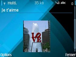 Nokia E71 - MMS - envoi d'images - Étape 13
