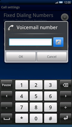 Sony Xperia X10 - Voicemail - Manual configuration - Step 6
