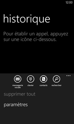 Nokia Lumia 625 - Messagerie vocale - configuration manuelle - Étape 6