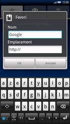 Sony Ericsson Xperia X10 - Internet - navigation sur Internet - Étape 7