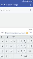 HTC U Play - Contact, Appels, SMS/MMS - Envoyer un SMS - Étape 10