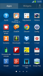 Samsung I9500 Galaxy S IV - Wi-Fi - Como configurar uma rede wi fi - Etapa 3