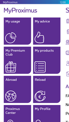 Nokia Lumia 830 - Applications - MyProximus - Step 16