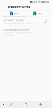 Samsung Galaxy A8 (2018) (SM-A530F) - Netwerk selecteren - Handmatig een netwerk selecteren - Stap 10