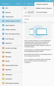 Samsung Galaxy Tab A 10.1 (SM-T585) - WiFi - Mobiele hotspot instellen - Stap 7