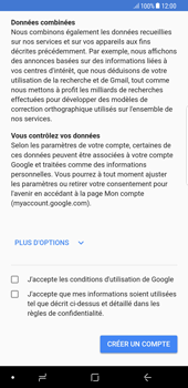 Samsung Galaxy S8 Plus - Android Oreo - Applications - Créer un compte - Étape 15