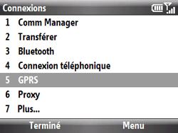 HTC S521 Snap - Internet - Configuration manuelle - Étape 5
