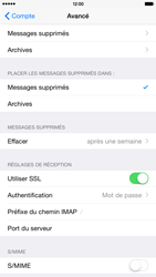 Apple iPhone 6 Plus iOS 8 - E-mail - Configurer l