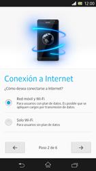 Sony Xperia Z - Primeros pasos - Activar el equipo - Paso 8