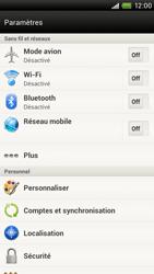 HTC S720e One X - Internet - activer ou désactiver - Étape 4