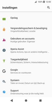 Sony Xperia XZ2 (H8216) - Beveiliging en ouderlijk toezicht - Hoe wijzig ik mijn SIM PIN-code - Stap 4