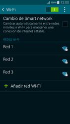 Samsung G850F Galaxy Alpha - WiFi - Conectarse a una red WiFi - Paso 6