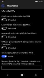 Microsoft Lumia 950 - SMS - configuration manuelle - Étape 6