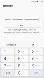 Samsung Galaxy S7 Edge - Android Nougat - Segurança - Como ativar o código de bloqueio do ecrã -  10