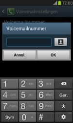 Samsung I8190 Galaxy S III Mini - Voicemail - handmatig instellen - Stap 6