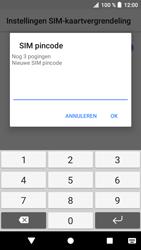 Sony xperia-xa1-g3121-android-oreo - Beveiliging en ouderlijk toezicht - Hoe wijzig ik mijn SIM PIN-code - Stap 9
