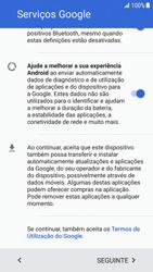 Samsung Galaxy S6 Edge - Android Nougat - Primeiros passos - Como ligar o telemóvel pela primeira vez -  7
