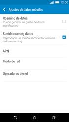 HTC One M8 - Red - Seleccionar una red - Paso 5
