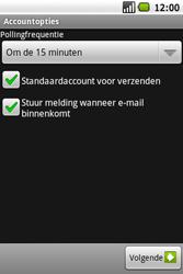 Samsung I5700 Galaxy Spica - E-mail - handmatig instellen - Stap 12
