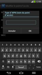 LG D955 G Flex - Internet - Configuration manuelle - Étape 14