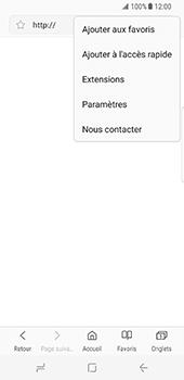 Samsung Galaxy S8 - Internet - configuration manuelle - Étape 25