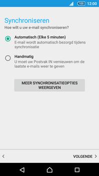Sony Xperia Z5 Premium (E6853) - E-mail - Handmatig instellen - Stap 19