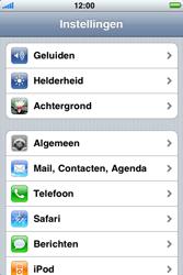 Apple iPhone 3G - Bluetooth - Aanzetten - Stap 2
