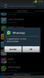Samsung Galaxy S3 4G - Applications - Supprimer une application - Étape 7