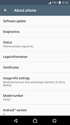 Sony Xperia XZ (F8331) - Device - Software update - Step 6