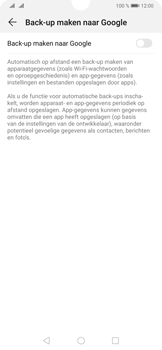 Huawei P30 - Data - Maak een back-up met je account - Stap 6