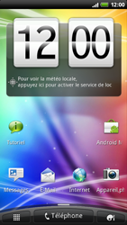 HTC Z710e Sensation - Internet - configuration automatique - Étape 1