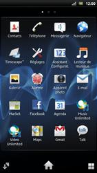 Sony LT22i Xperia P - Internet - Navigation sur internet - Étape 2