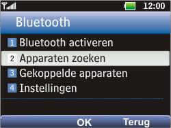 LG C360 Golf - Bluetooth - Headset, carkit verbinding - Stap 5