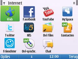 Nokia E5-00 - Internet - Hoe te internetten - Stap 3