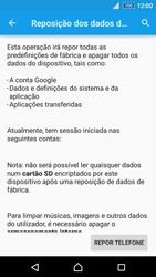 Sony Xperia Z3 Plus - Repor definições - Como repor definições de fábrica do telemóvel -  7