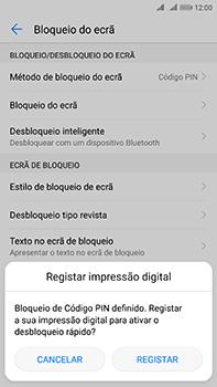 Huawei Mate 10 - Segurança - Como ativar o código de bloqueio do ecrã -  11