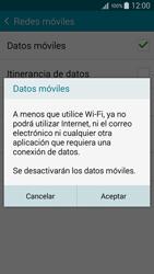 Samsung Galaxy A3 - Internet - Activar o desactivar la conexión de datos - Paso 7